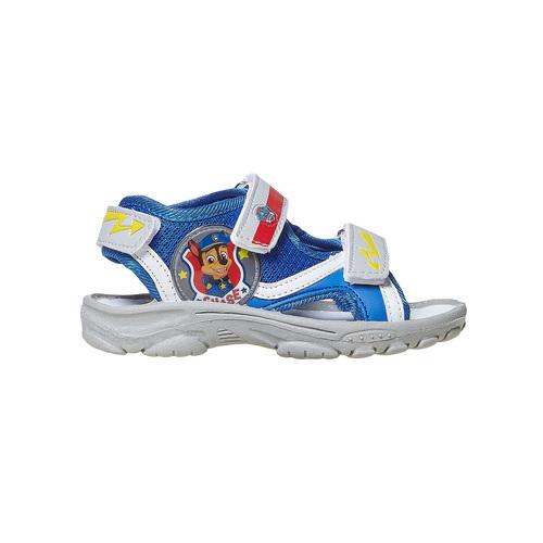 Sandali da bambino con chiusure a velcro, blu, 261-9194 - 15