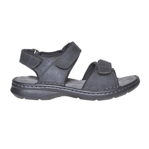 Sandali in pelle da uomo weinbrenner, nero, 866-6269 - 15