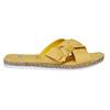 Slip-on gialle da donna con strass bata, giallo, 569-8413 - 15