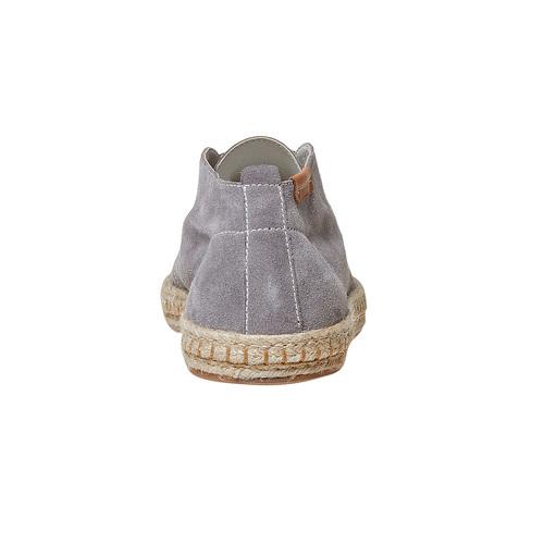Scarpe stringate casual di pelle bata, neutro, 853-2321 - 17