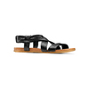 Sandali in pelle bata, nero, 564-6443 - 13