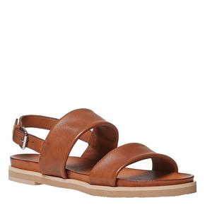 Sandali marroni in pelle bata, marrone, 564-3446 - 13