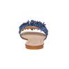 Slip-on blu in pelle con frange bata, blu, 573-9354 - 17