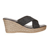 Slip-on da donna con plateau bata, nero, 779-6105 - 15