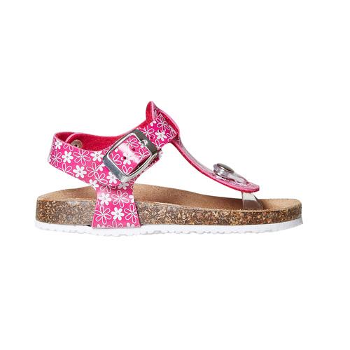 Sandali rosa da bambina mini-b, rosa, 261-5186 - 15