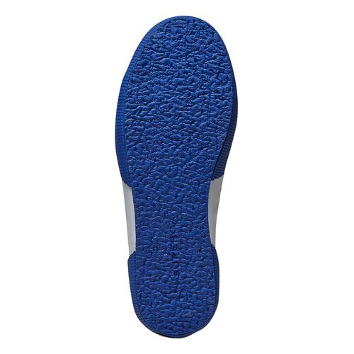 Sneakers con motivo colorato superga, blu, 589-9191 - 26