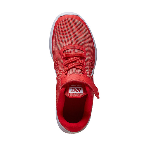 Sneakers rosse da bambino nike, rosso, 309-5249 - 19