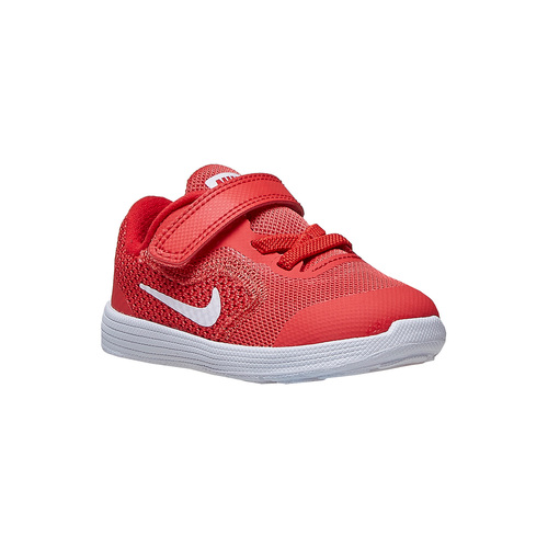 Sneakers rosse da bambino nike, rosso, 109,5249 , 13