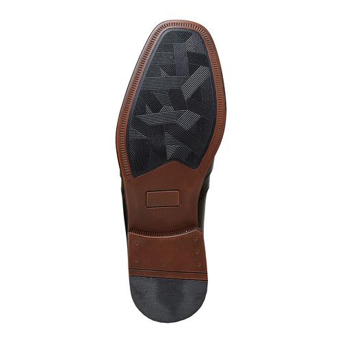 Loafer in pelle da uomo, nero, 814-6168 - 26