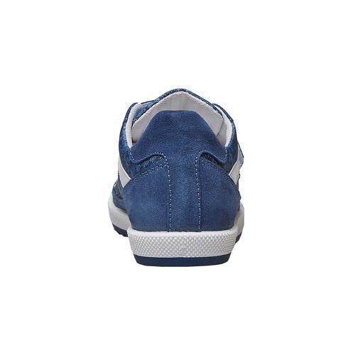 Sneakers da bambino con chiusure a velcro flexible, blu, 311-9244 - 17