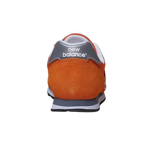 Sneakers in pelle da uomo new-balance, arancione, 803-3107 - 17