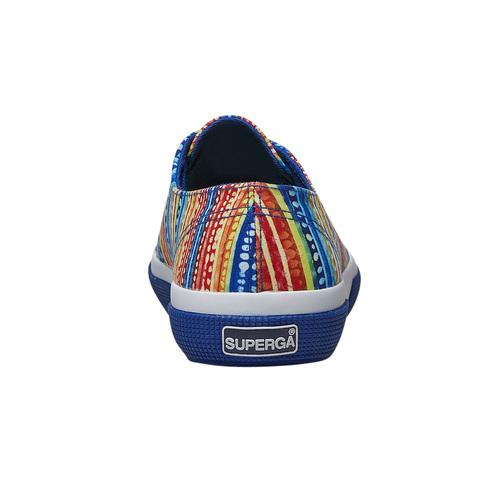 Sneakers con motivo colorato superga, blu, 589-9191 - 17