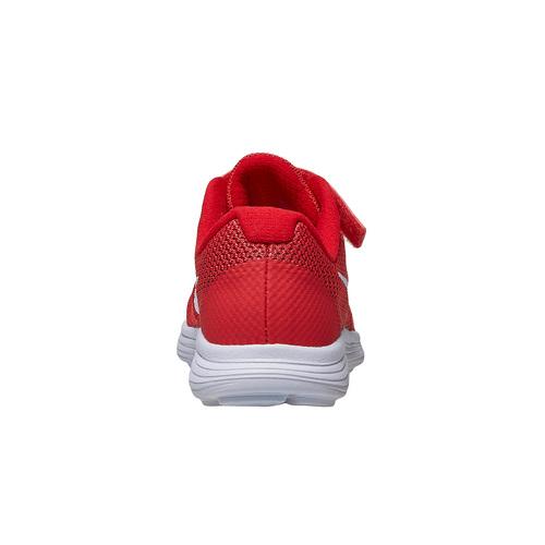 Sneakers rosse da bambino nike, rosso, 309-5249 - 16