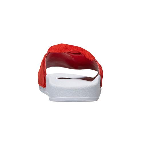 Pool slides scamosciate bata, rosso, 563-5116 - 16