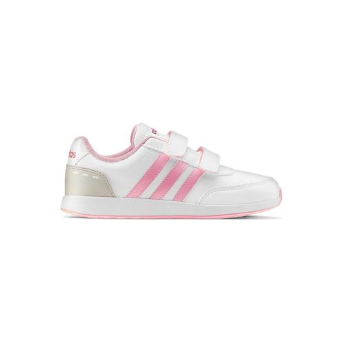 Scarpe Adidas da bambine adidas, bianco, rosa, 309-1189 - 26