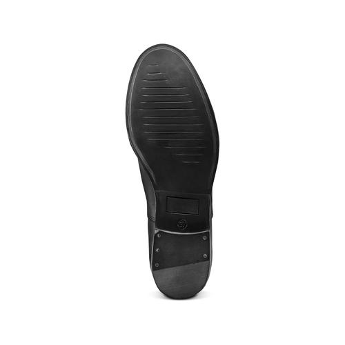 Scarpe basse in pelle bata, nero, 524-6661 - 19