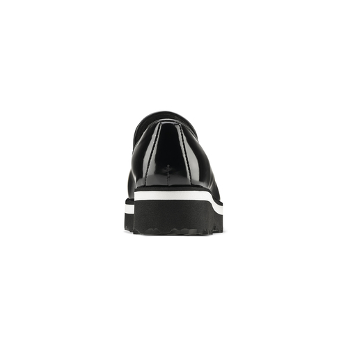 Mocassini neri con nappine bata, nero, 511-6403 - 16