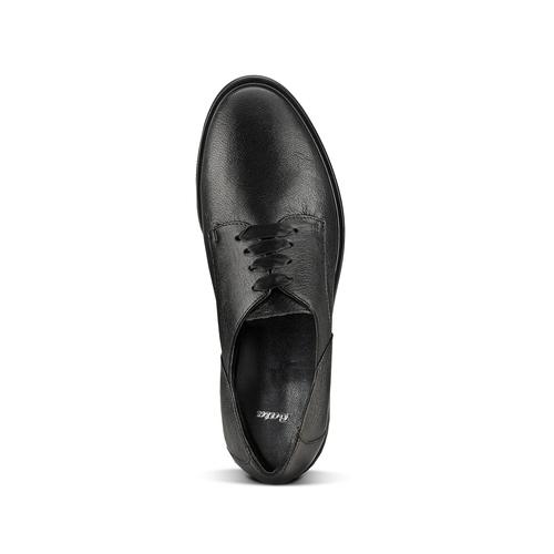 Scarpe stringate in pelle bata, nero, 524-6664 - 15