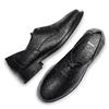 Scarpe stringate in pelle bata, nero, 524-6664 - 19