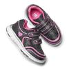 Sneakers da bambina con glitter, nero, 229-6175 - 19