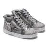 Sneakers con fiocco mini-b, grigio, 229-2205 - 19