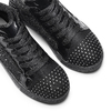Sneakers alte con strass mini-b, nero, 329-6302 - 19