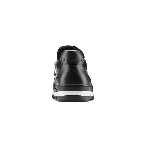 Sneakers slip-on con strass mini-b, nero, 329-6297 - 16