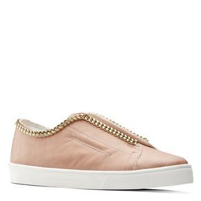 Sneakers rosa con dettaglio catena north-star, rosa, 541-5129 - 13