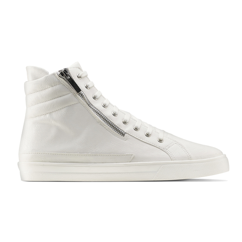 Sneakers alte bianche north-star, bianco, 841-1503 - 26