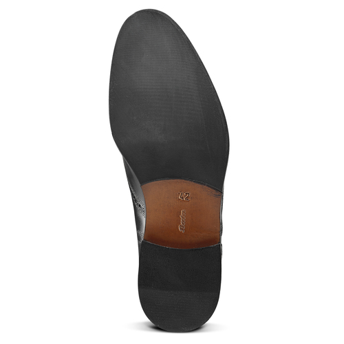Scarpe basse stringate bata-the-shoemaker, nero, 824-6593 - 17