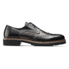 Scarpe stringate bicolore bata-the-shoemaker, nero, 824-6186 - 26