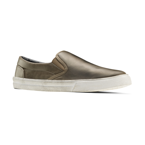 Slip-on uomo north-star, marrone, 831-2111 - 13