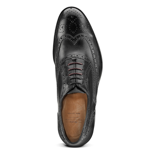 Scarpe basse stringate bata-the-shoemaker, nero, 824-6593 - 15