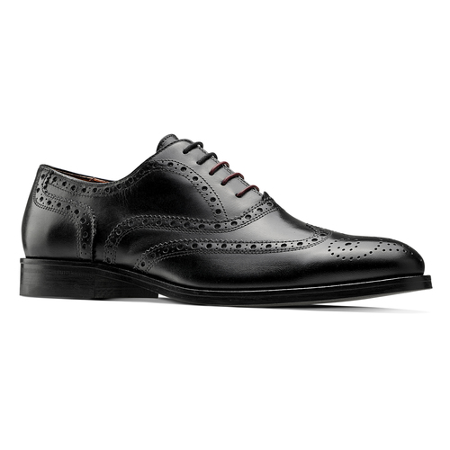 Scarpe basse stringate bata-the-shoemaker, nero, 824-6593 - 13