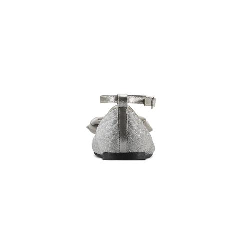 Ballerine glitter con fiocco mini-b, argento, 329-1286 - 16