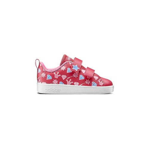 Scarpe Adidas da bimba adidas, rosso, 101-5533 - 26