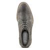 Polacchini da uomo in suede bata, grigio, 823-2105 - 15