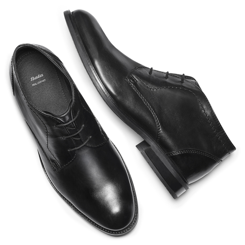Stivaletti eleganti da uomo bata, nero, 894-6707 - 19
