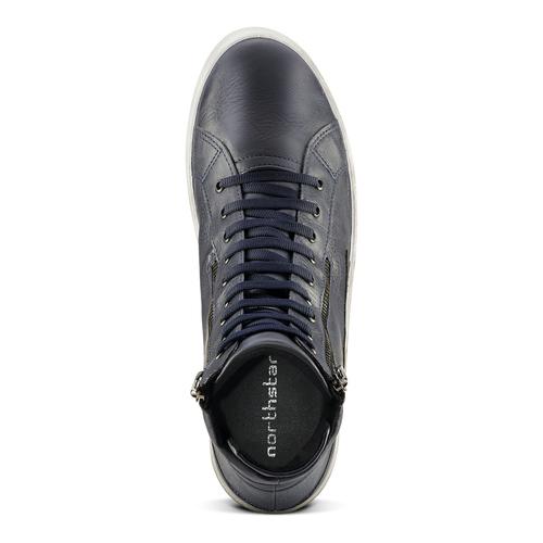Sneakers alte north-star, blu, 841-0503 - 15