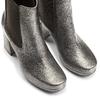 Tronchetti in pelle metallizzata bata, grigio, 794-2147 - 15
