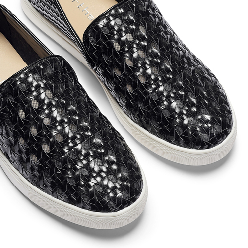 Slip-on nere north-star, nero, 541-6324 - 19