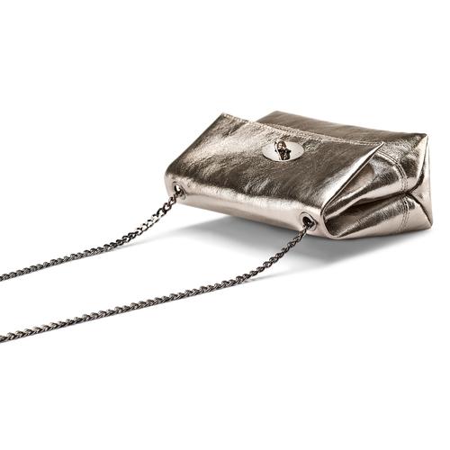Mini-bag oro con catena bata, oro, 964-8839 - 17