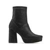 Ankle boots tacco largo bata, nero, 799-6664 - 13