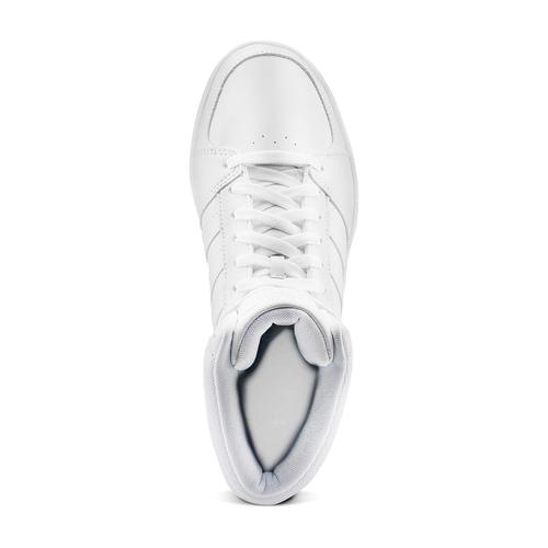 Sneakers alte Adidas da uomo adidas, bianco, 801-1211 - 15
