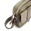 Tracolla da uomo con tasca esterna bata, khaki, 969-7126 - 15