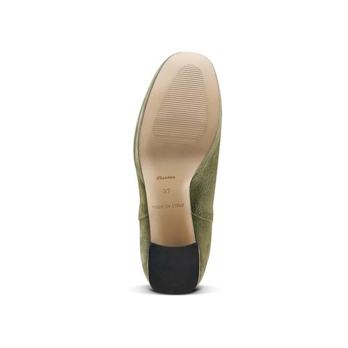Stivaletti da donna bata, verde, 793-7704 - 17