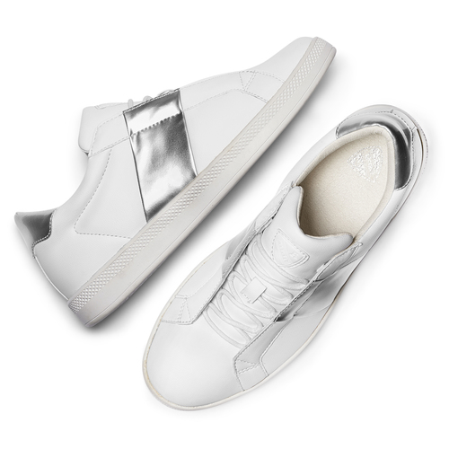 Sneakers donna Atletico bata, bianco, 541-1331 - 19