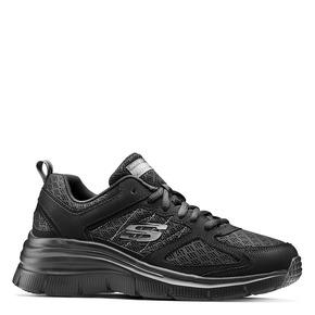 Scarpe Skechers da donna skechers, nero, 509-6321 - 13