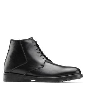 Boots da uomo in pelle nera bata, nero, 824-6115 - 13