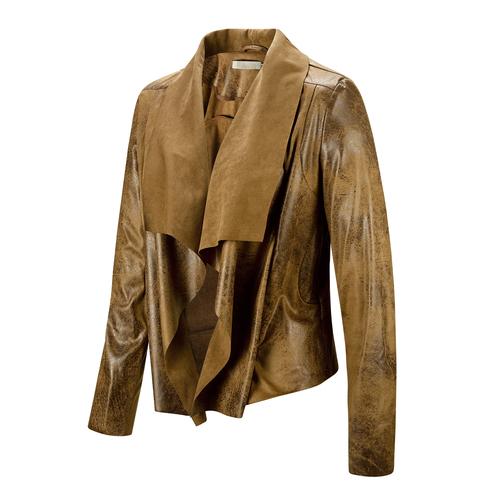 Giacca destrutturata bata, marrone, 979-3235 - 16
